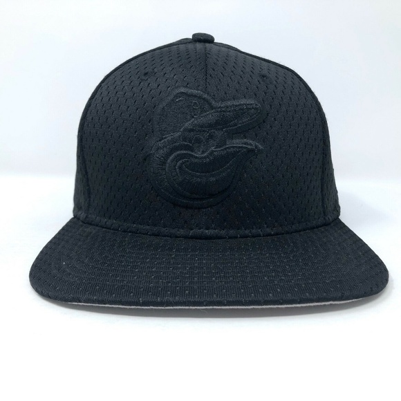 Baltimore Orioles New Era 9FIFTY Snapback Hat Mesh